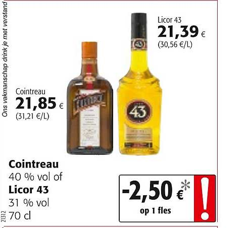 Colruyt Cointreau Of Licor 43