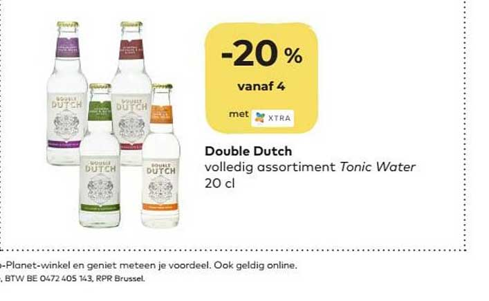 Bio Planet Double Dutch Tonic Water