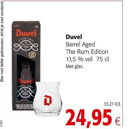 Colruyt Duvel Barrel Aged The Rum Edition