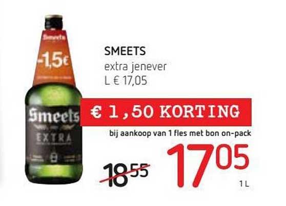Spar Colruyt Smeets Extra Jenever