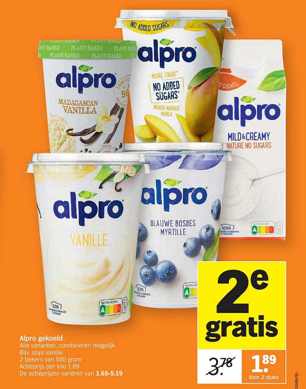 Albert Heijn Alpro Gekoeld 2e Gratis
