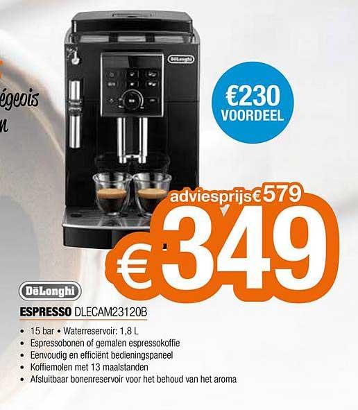 Expert Delonghi Espresso Dlecam23120b