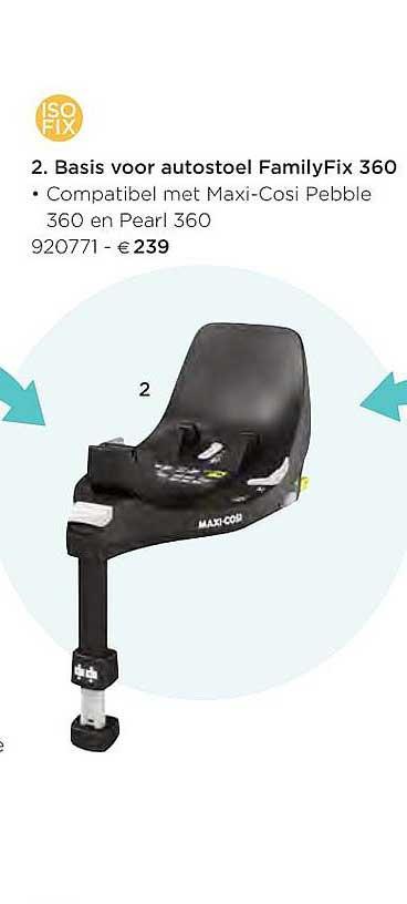 Dreambaby Basis Voor Autostoel Familyfix 360