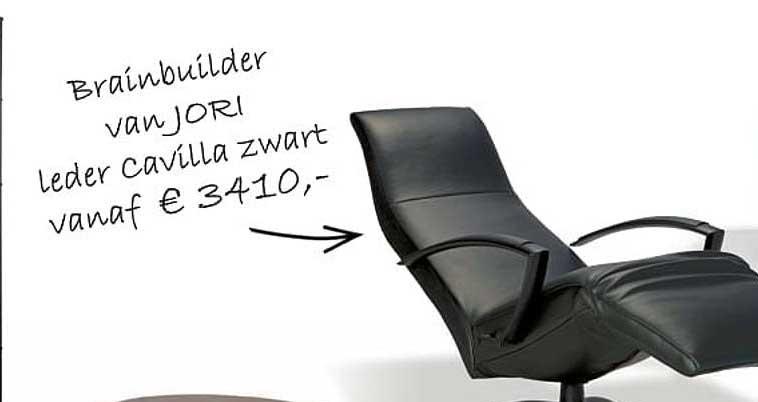 Krea Rainbuilder Van Jori Leder Cavilla Zwart