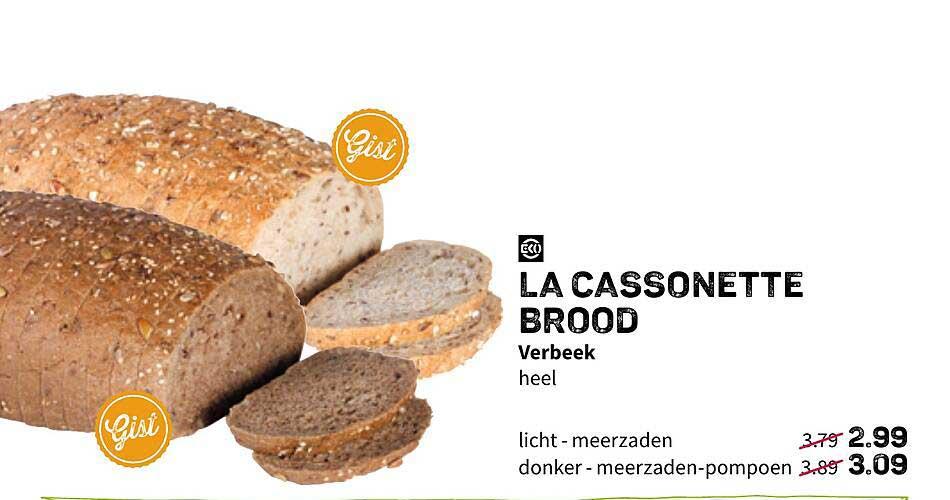 Ekoplaza La Cassonette Brood