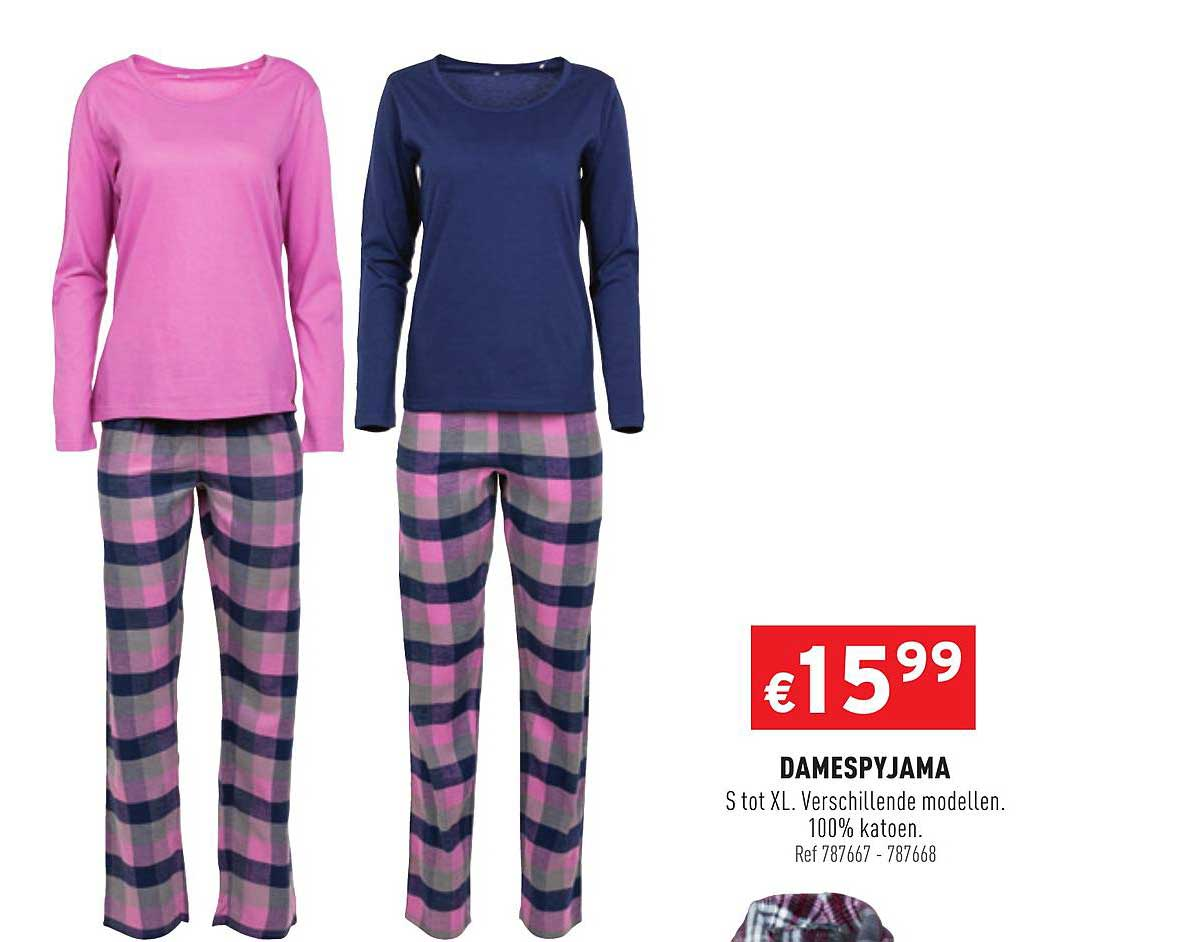 Trafic Damespyjama