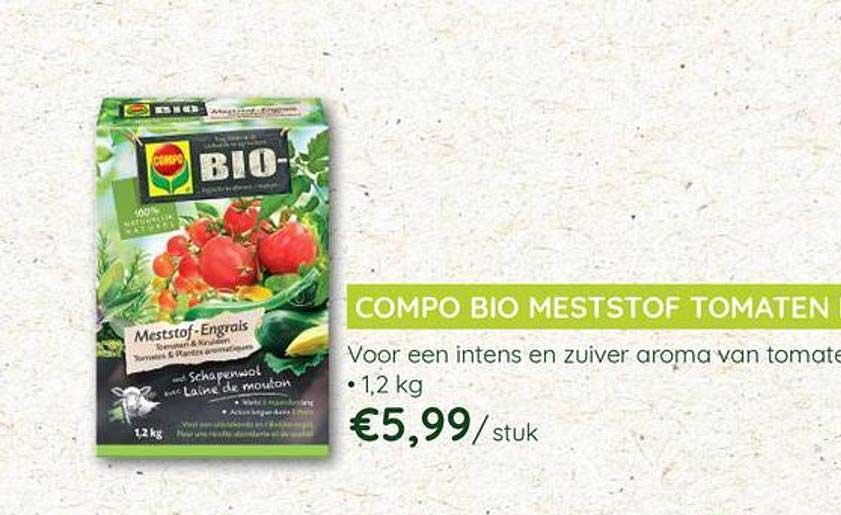 Eurotuin Compo Bio Meststof Tomaten