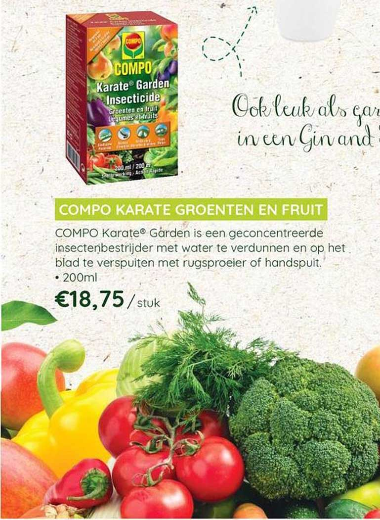 Eurotuin Compo Karate Groenten En Fruit