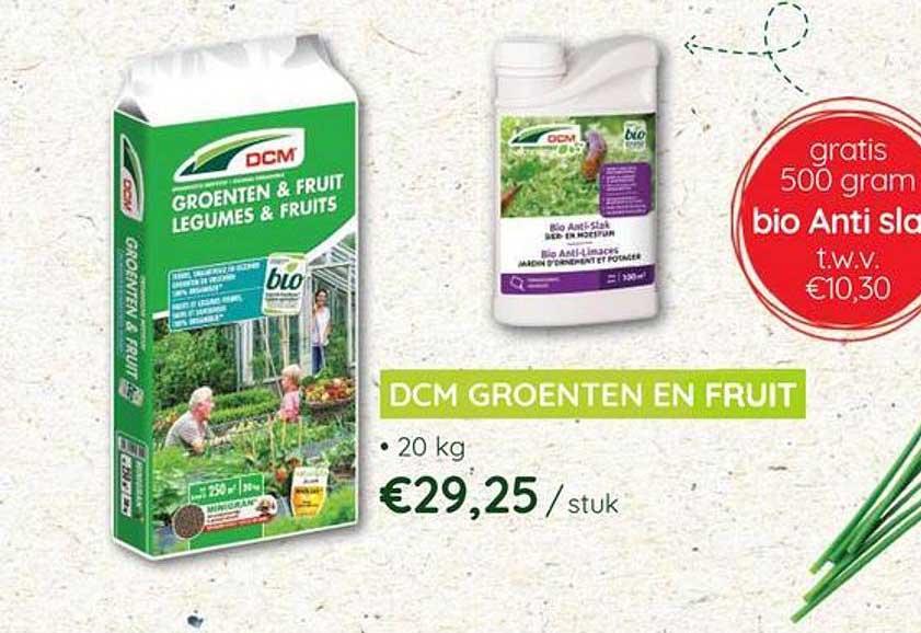 Eurotuin Dcm Groenten En Fruit