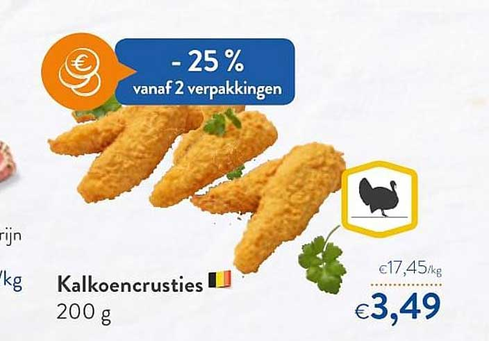 OKay Supermarkt Kalkoencrusties
