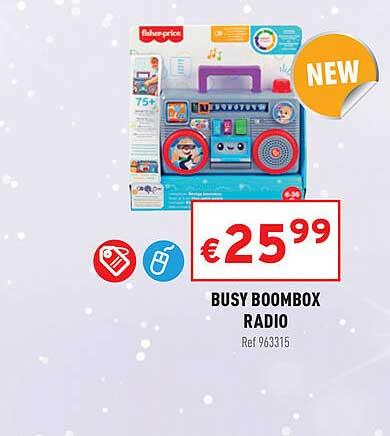 Trafic Busy Boombox Radio