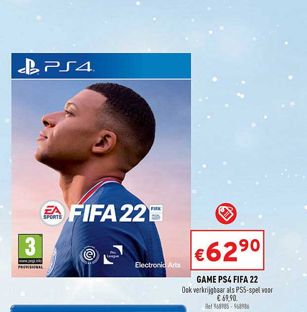 Trafic Game Ps4 Fifa 22