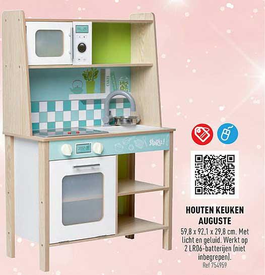 Trafic Houten Keuken Auguste