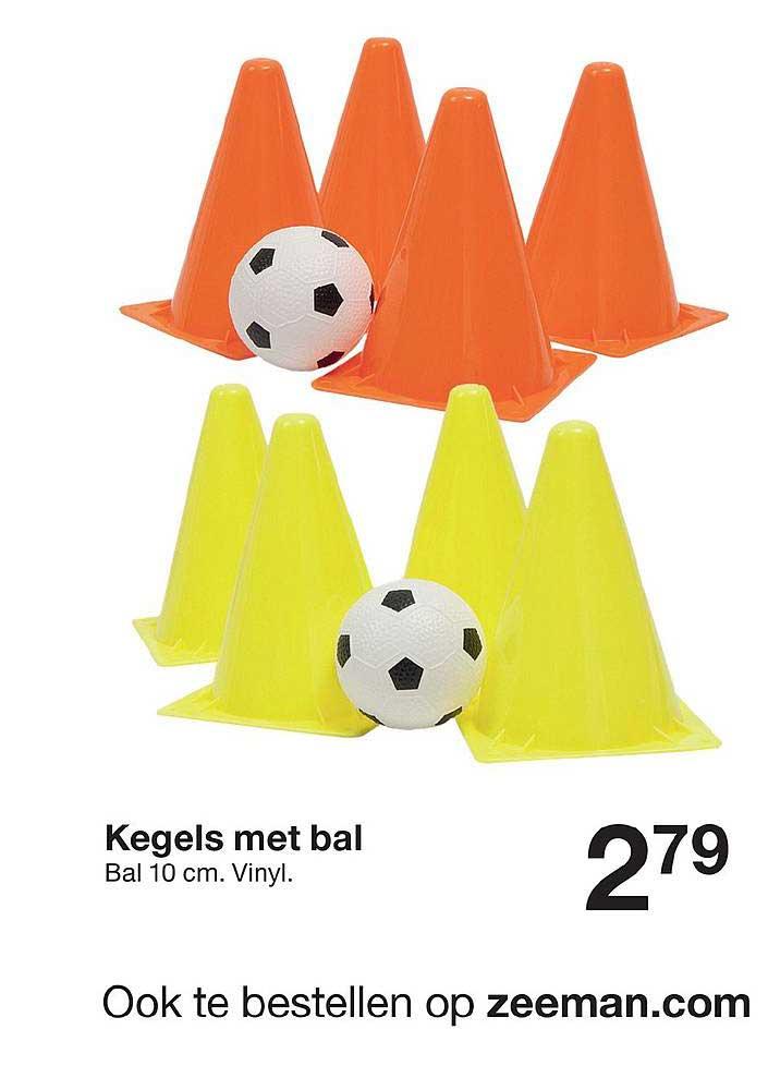 Zeeman Kegels Met Bal Bal 10 Cm Vinyl