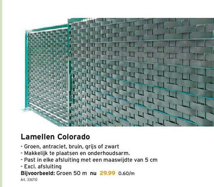 GAMMA Lamellen Colorado