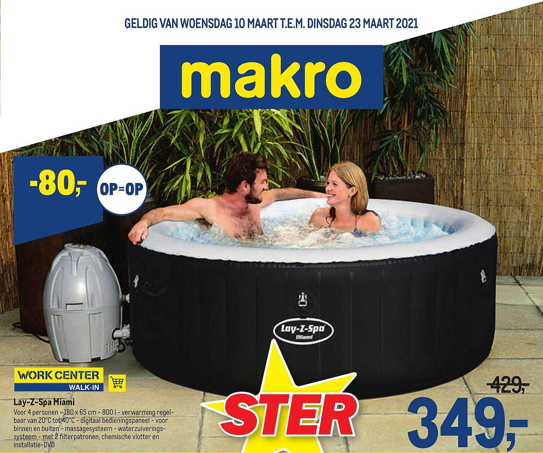 Makro Lay-z Spa Miami