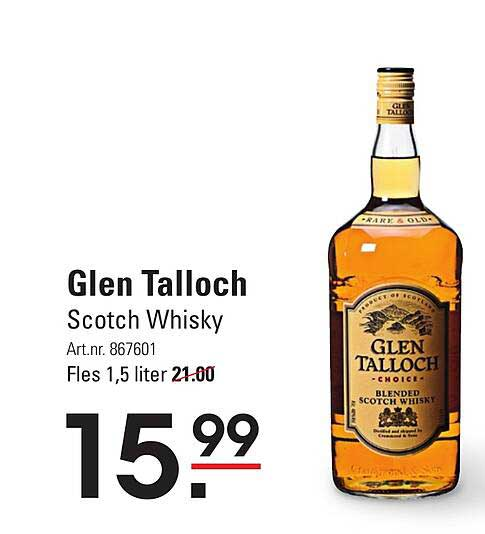 Sligro Glen Talloch Scotch Whisky