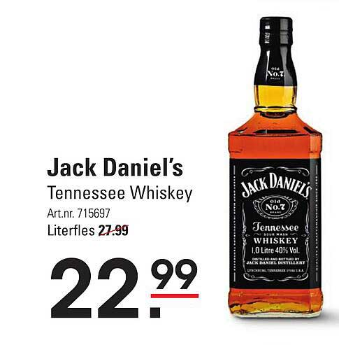Sligro Jack Daniel's Tennessee Whiskey