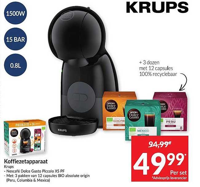 Intermarché Krups Koffiezetapparaat