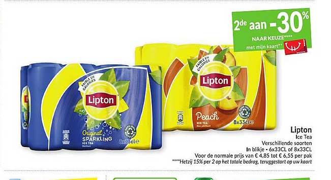 Intermarché Lipton Ice Tea
