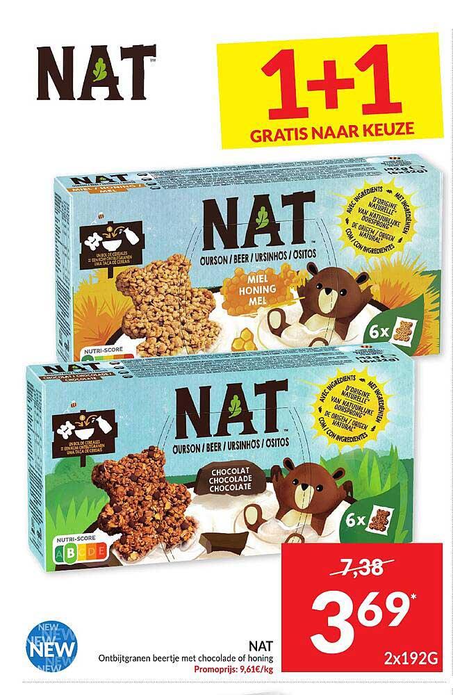 Intermarché Nat Ontbijtgranen Beertje
