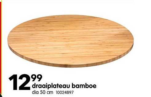 Yess Draaiplateau Bamboe