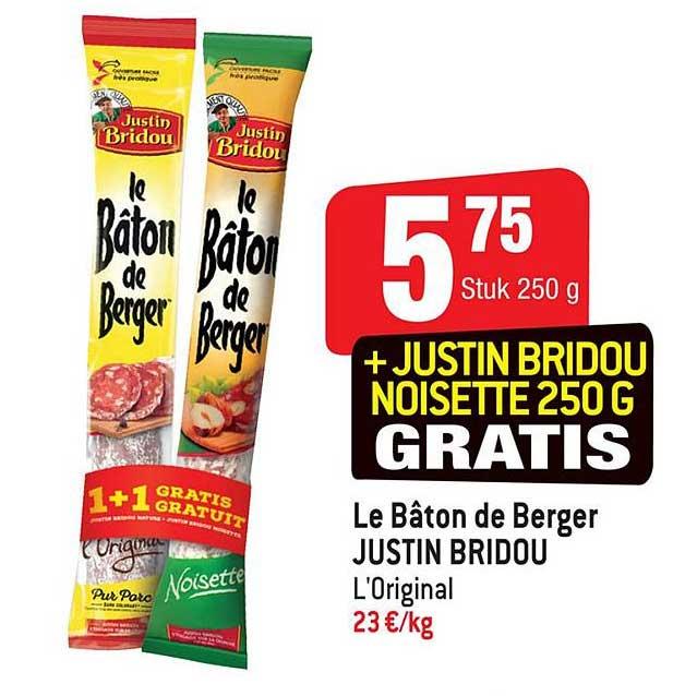 Smatch Le Baton De Berger Justin Bridou