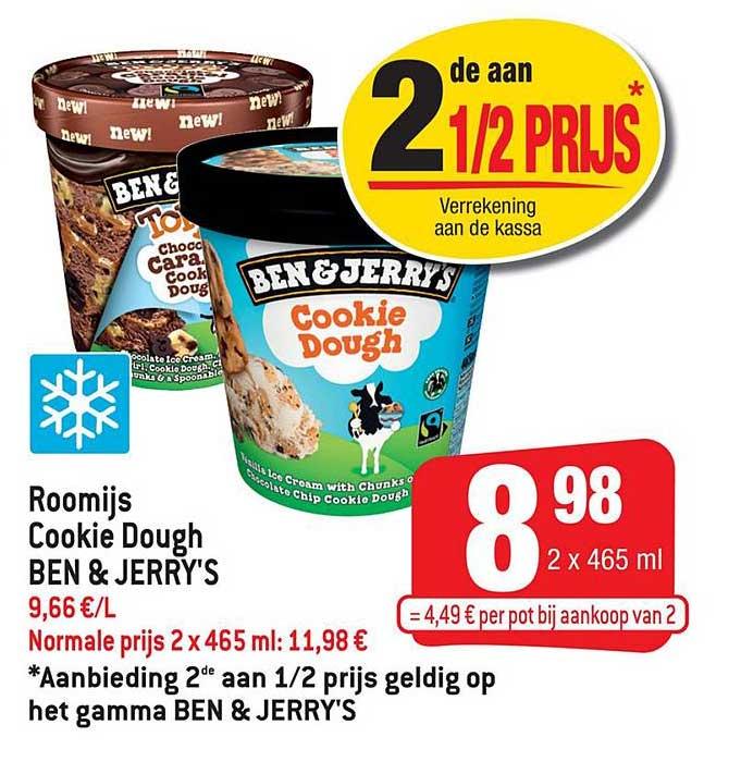 Smatch Roomijs Cookie Dough Ben & Jerry's