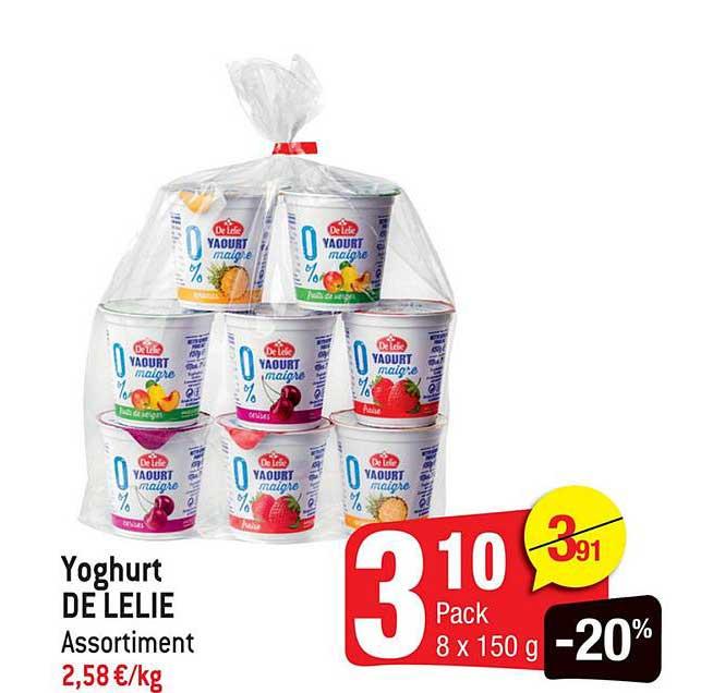 Smatch Yoghurt De Lelie