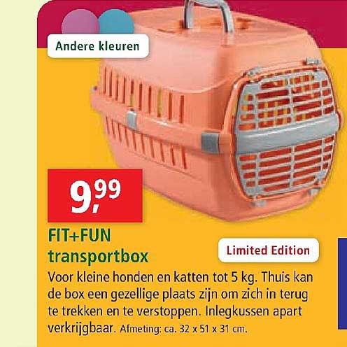 Maxi Zoo Fit + Fun Transportbox