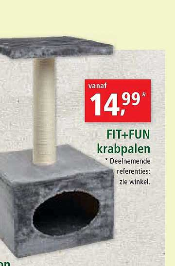 Maxi Zoo Fit+fun Krabpalen