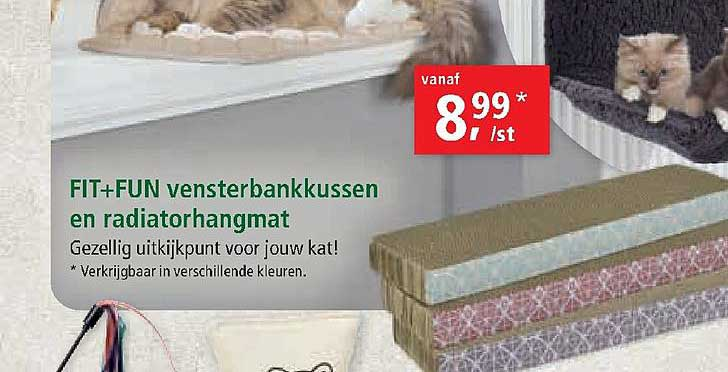 Maxi Zoo Fit+fun Vensterbankkussen En Radiatorhangmat