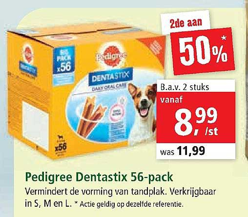 Maxi Zoo Pedigree Dentastix 56 Pack