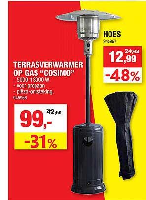 Hubo Terrasverwarmer Op Gas