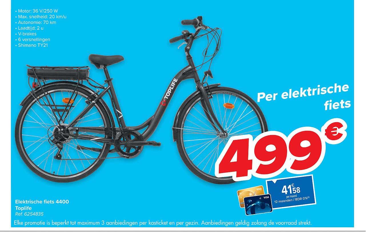 Carrefour Elektrische Fiets 4400 Toplife
