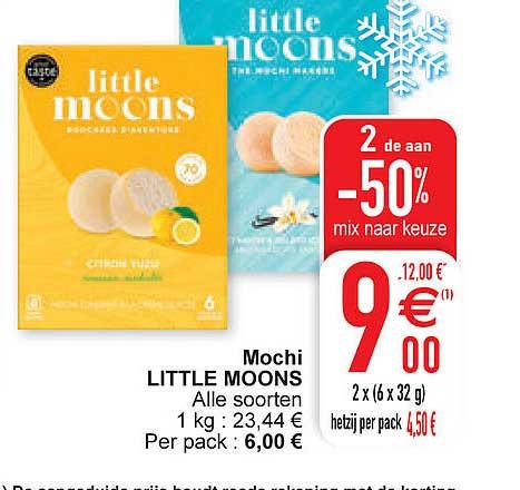 Cora Mochi Little Moons