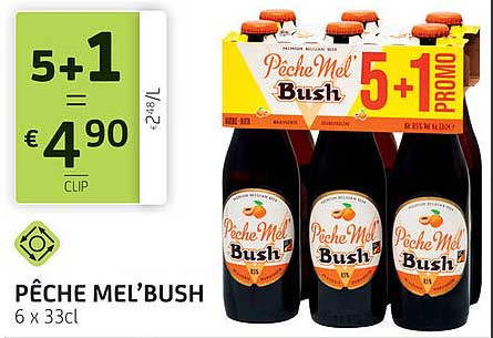BelBev Peche Mel'bush