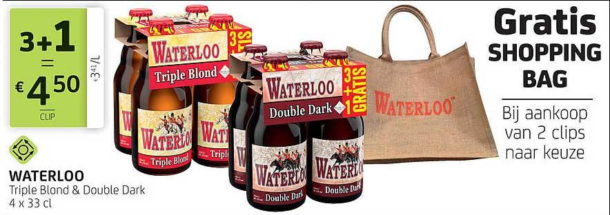 BelBev Waterloo Triple Blond & Double Dark