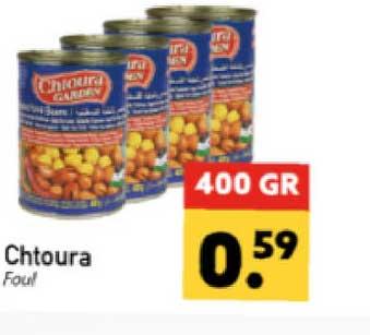 Tanger Markt Chtoura Foul