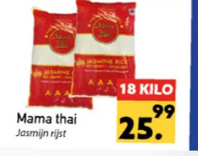 Tanger Markt Mama Thai Jasmijn Rijst