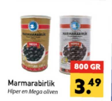 Tanger Markt Marmarabirlik Hiper En Mega Oliven