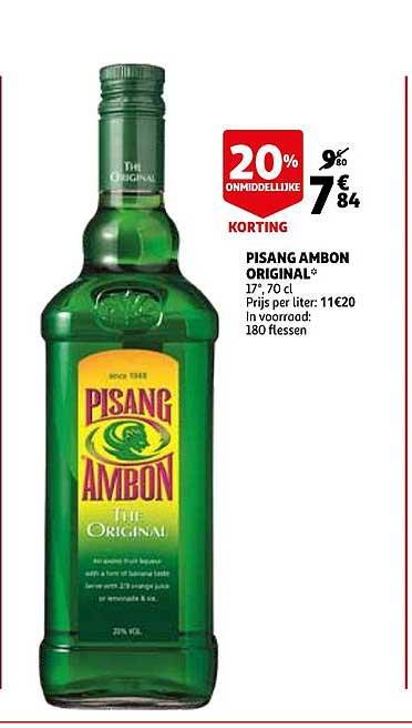 Auchan Pisang Ambon Original