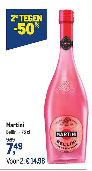 Makro Martini Bellini 75 Cl