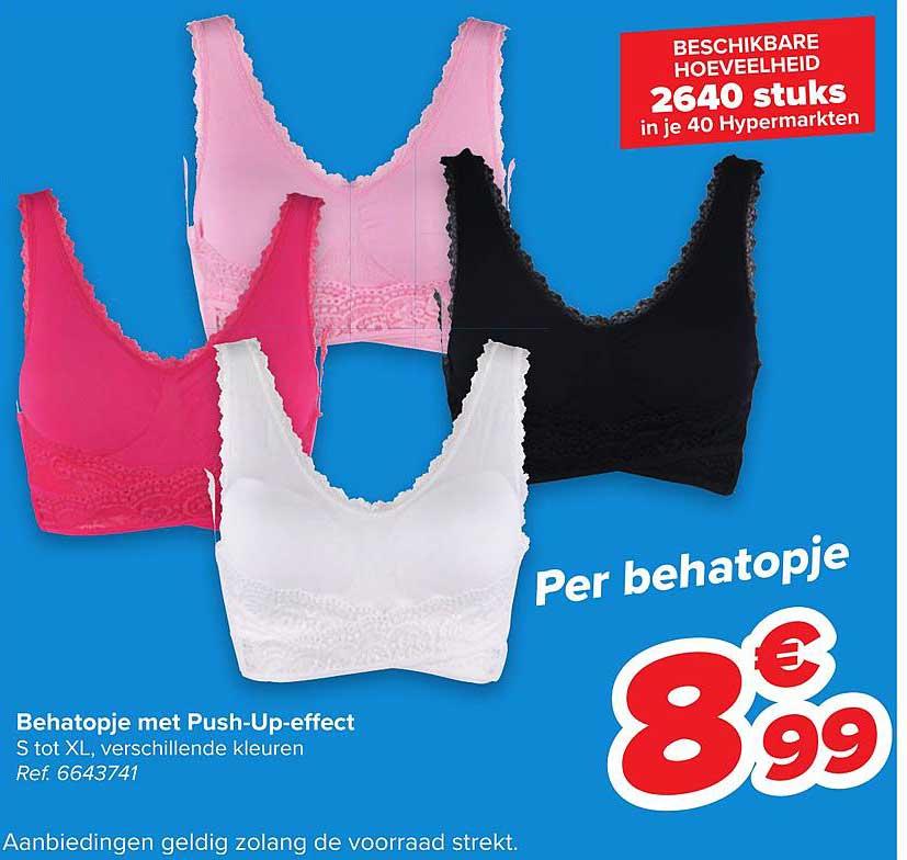 Carrefour Behatopje Met Push-up-effect