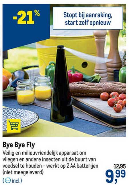 Makro Bye Bye Fly