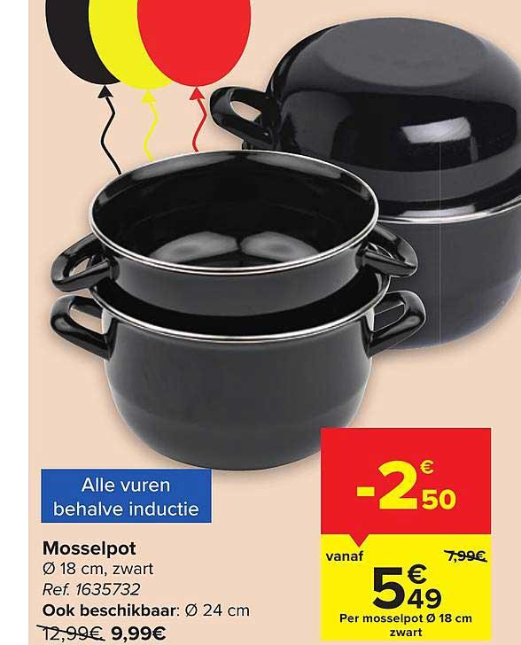 Carrefour Mosselpot 18 Cm