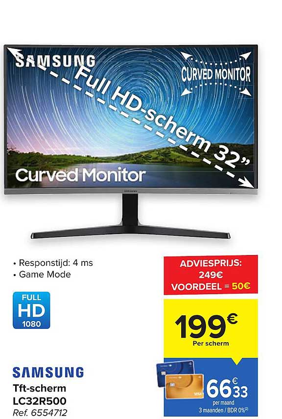 Carrefour Samsung Tft-scherm Lc32r500