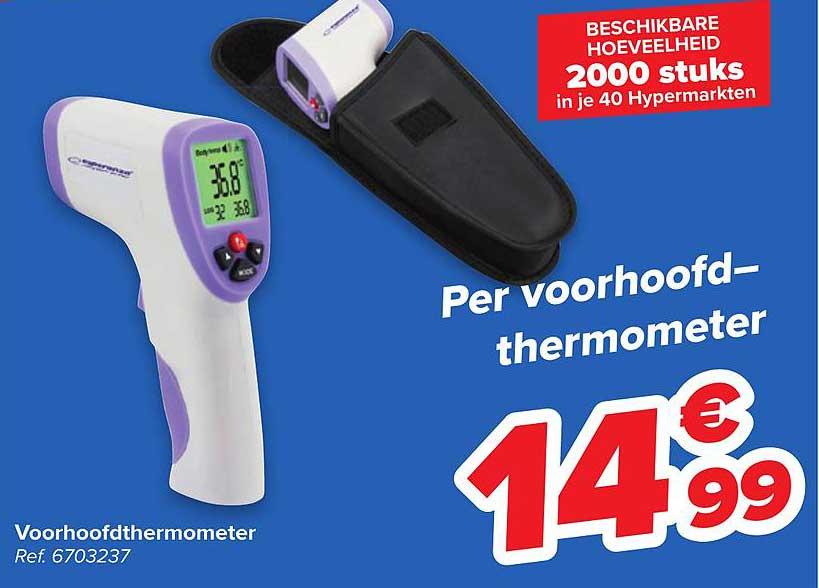 Carrefour Voorhoofdthermometer