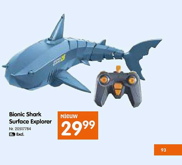 Fun Bionic Shark Surface Explorer