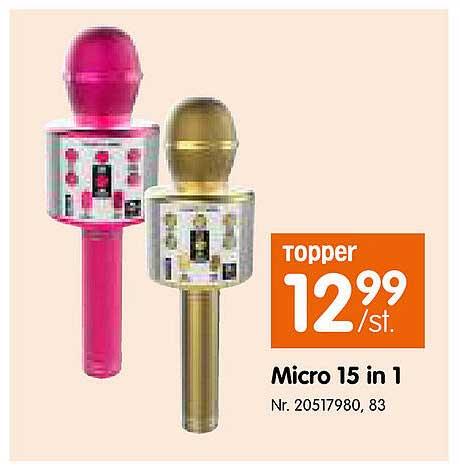 Fun Micro 15 In 1